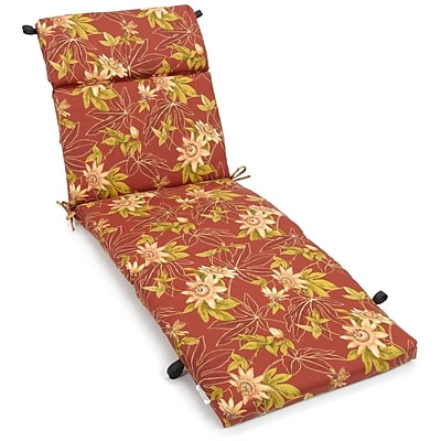 Blazing Needles Passion Outdoor Chaise Lounge Cushion