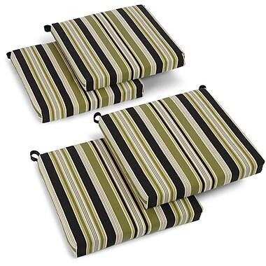 Blazing Needles Eastbay Outdoor Adirondack Chair Cushion (Set of 4)
