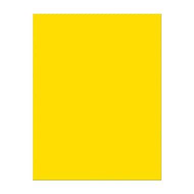 Pacon – Papier cartonné, 8,5 x 11 po, jaune citron, 100 Ct, 200/paquet (PAC101172)