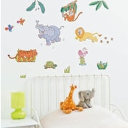 Fun To See Jungle Safari Nursery and Bedroom Wall Decal