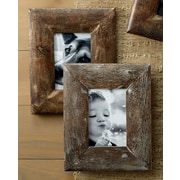 Kindwer Rustic Wood Picture Frame (Set of 2); 5'' x 7''