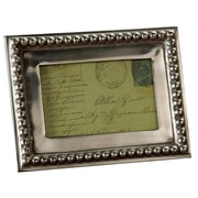 Kindwer Imperial Beaded Picture Frame; 3.5'' x 7''