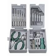 HVTools - Trousse d'outils, 31 pièces, 7 x 4 x 3 po, argent
