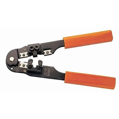 HVTools – Outil de sertissage réseau pour câbles RJ45, 11 x 4 x 1 po, noir