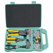HVTools - Trousse d'outils, 10 x 4 x 1 po, vert
