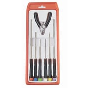 "HVTools Screwdriver Set, 14"" x 4"" x 2"", Black"