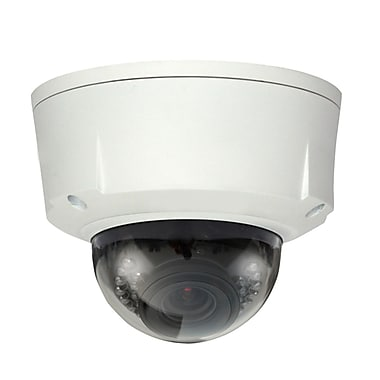 SeqCam 1.3 MegapixelWater-Proof & Vandal-Proof IR Network Dome Camera, 4.7