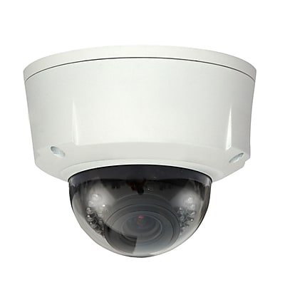 SeqCam SEQHDBW5200 Wired Indoor/Outdoor Dome Camera 1080 TVL