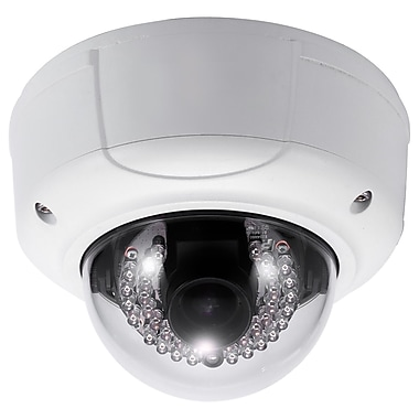 SeqCam 3.0 Megapixel Full HD Vandal-proof Network IR Dome Camera, 4.7