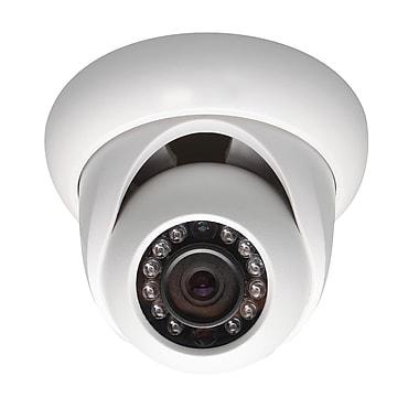 SeqCam – Mini caméra dôme réseau IR HD 1,3 mégapixel, 3,4 po x 4,5 po x 4,5 po, blanc