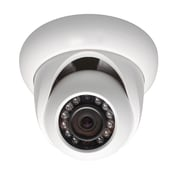"SeqCam 3 Megapixel Full HD Network Small IR Dome Camera, 3.4"" x 4.5"" x 4.5"", White"