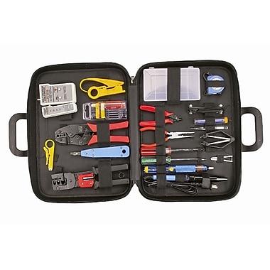 HV Tools - Trousse d'outils professionnels, avec pistolet à souder, 3 x 15 x 10 po, noir