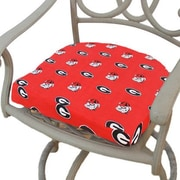 College Covers NCAA Georgia Outdoor Dining Chair Cushion