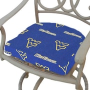 College Covers NCAA West Virginia Outdoor Dining Chair Cushion