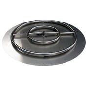 ETCO Stainless Steel Ring Burner Fire Pit Kit