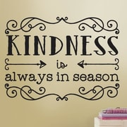 Room Mates Deco Kindness Quote Wall Decal