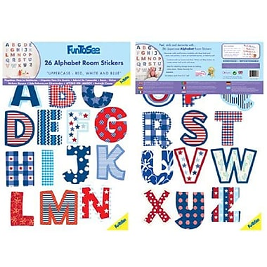 Fun To See Uppercase Alphabet Wall Decal