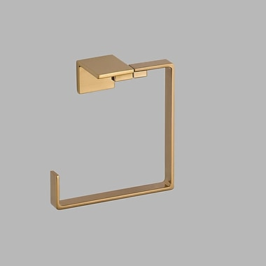 Delta Vero Towel Ring; Brilliance Champagne Bronze