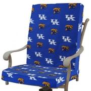 College Covers NCAA Kentucky Outdoor Adirondack Chair Cushion