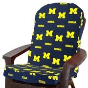 College Covers NCAA Michigan Outdoor Adirondack Chair Cushion