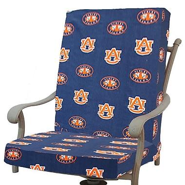 College Covers NCAA Auburn Outdoor Dining Chair Cushion