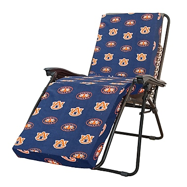 College Covers NCAA Auburn Outdoor Chaise Lounge Cushion