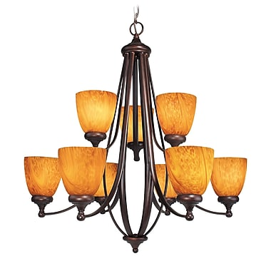 Woodbridge Kenshaw 9-Light Shaded Chandelier
