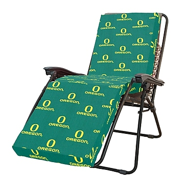 College Covers NCAA Oregon Outdoor Chaise Lounge Cushion