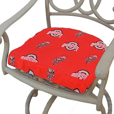 College Covers NCAA Ohio State Outdoor Dining Chair Cushion