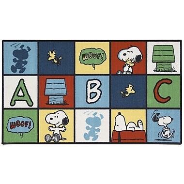 Nourison Peanuts Doormat