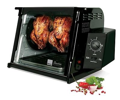 Ronco 4000 Series Rotisserie Oven; Black