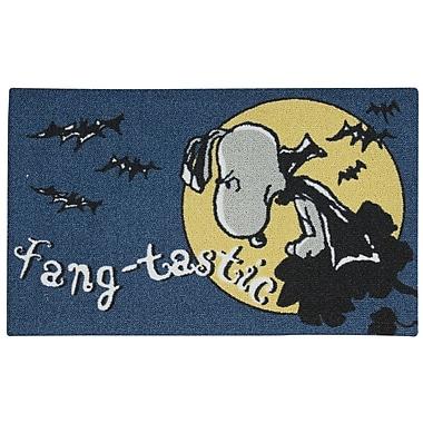 Nourison Peanuts Fangtatic Doormat
