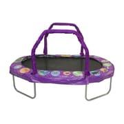Jumpking Mini Oval Trampoline w/ Pad; Purple