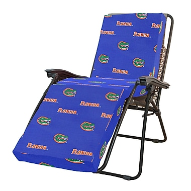 College Covers NCAA Florida Gators Outdoor Chaise Lounge Cushion