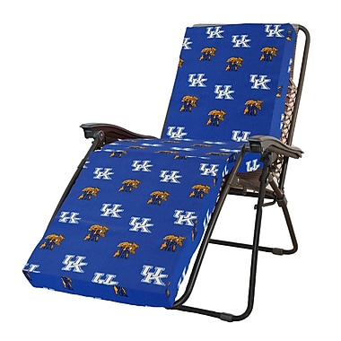 College Covers NCAA Kentucky Outdoor Chaise Lounge Cushion