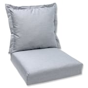 Pillow Perfect Outdoor Lounge Chair Cushion; Granite