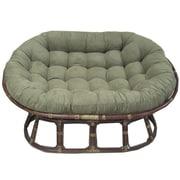 Bay Isle Home Papasan Premium Lounge Chair Cushion; Sage
