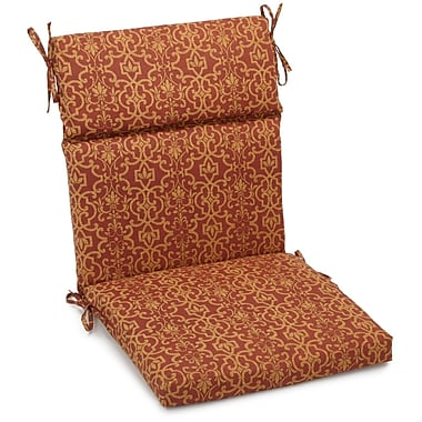 Blazing Needles Vanya Outdoor Adirondack Chair Cushion; 3.5'' H x 22'' W x 45'' D