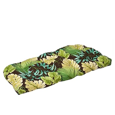 Pillow Perfect Outdoor Loveseat Cushion