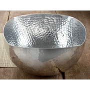Kindwer Square Hammered Serving Bowl