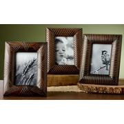 Kindwer 3 Piece Bamboo Picture Frame