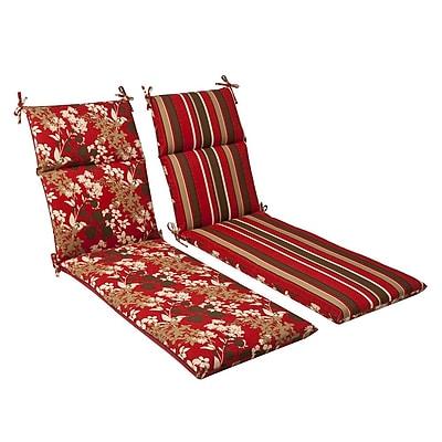Pillow Perfect Montifleuri Outdoor Chaise Lounge Cushion
