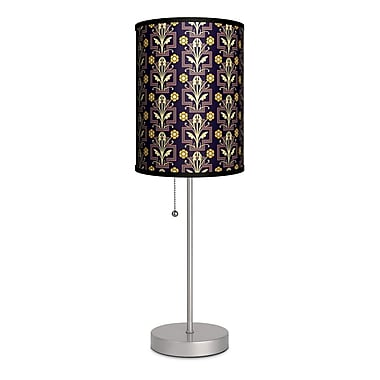 Lamp-In-A-Box Decor Art Floral Ornament 20'' Table Lamp