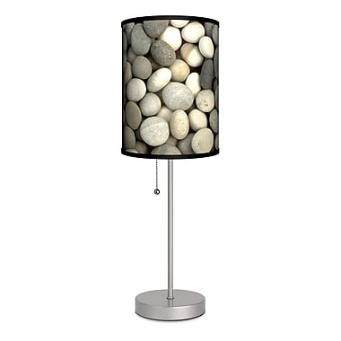 Lamp-In-A-Box Decor Art Stones 20'' Table Lamp