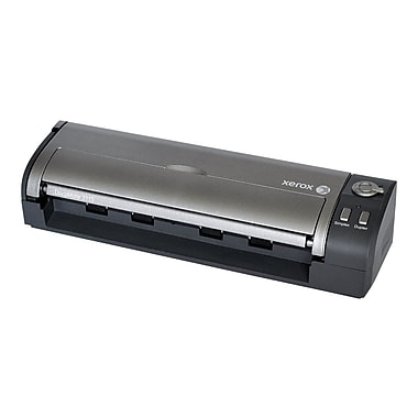 Xerox Documate 3115 Sheetfed Scanner, Black/Silver