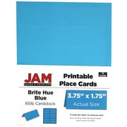 JAM Paper® Place Cards, 3.75 x 1.75, 24/Pack