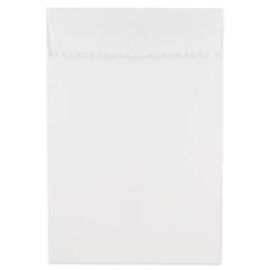 JAM Paper - Enveloppes à ouverture au sommet avec rabat autoadhésif, 6 x 9 po, blanc, 500/paquet (356828777)