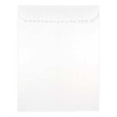 JAM Paper® 9 x 12 Open End Catalog Envelopes with Self Adhesive Closure, White, 500/Pack (356828780)