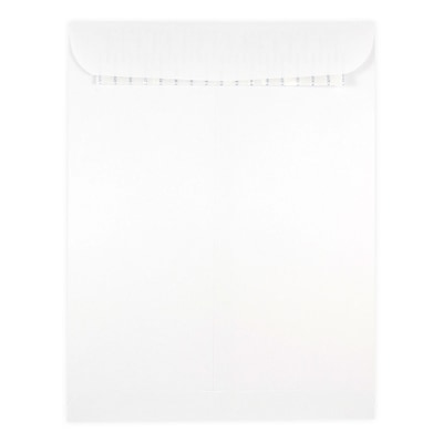 JAM Paper® 9 x 12 Open End Catalog Envelopes with Self Adhesive Closure, White, 500/box (356828780)