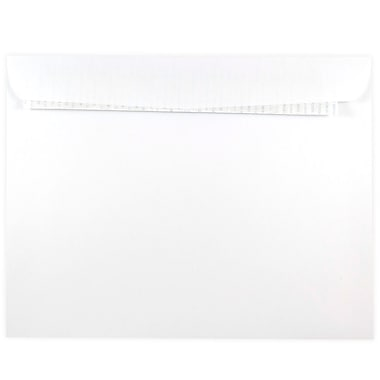JAM Paper® 9 x 12 Open End Envelopes with Peel and Seal Closure, White, 500/Pack (356828785)